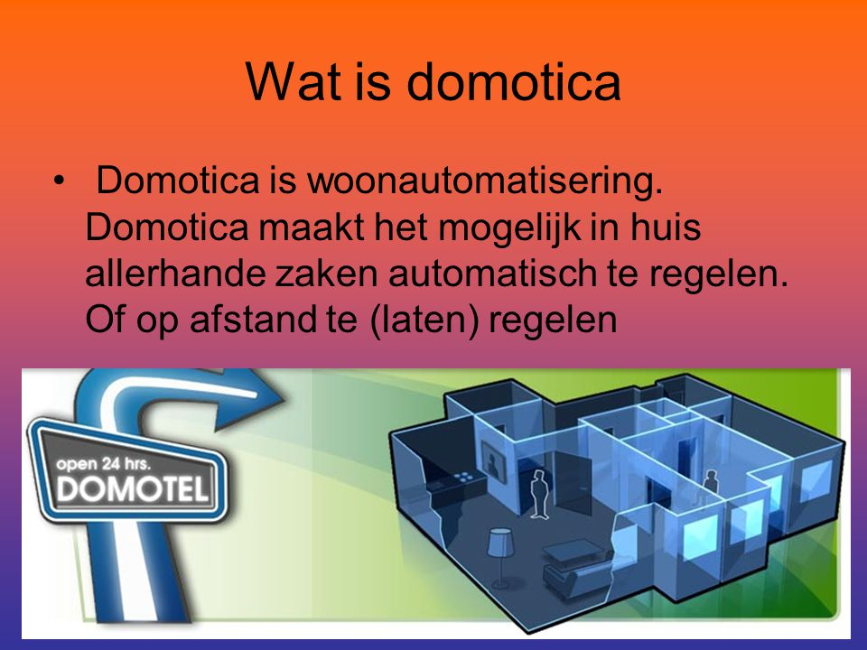 Wat is domotica