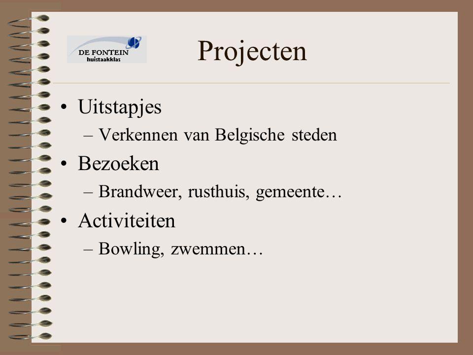 Projecten Uitstapjes Bezoeken Activiteiten