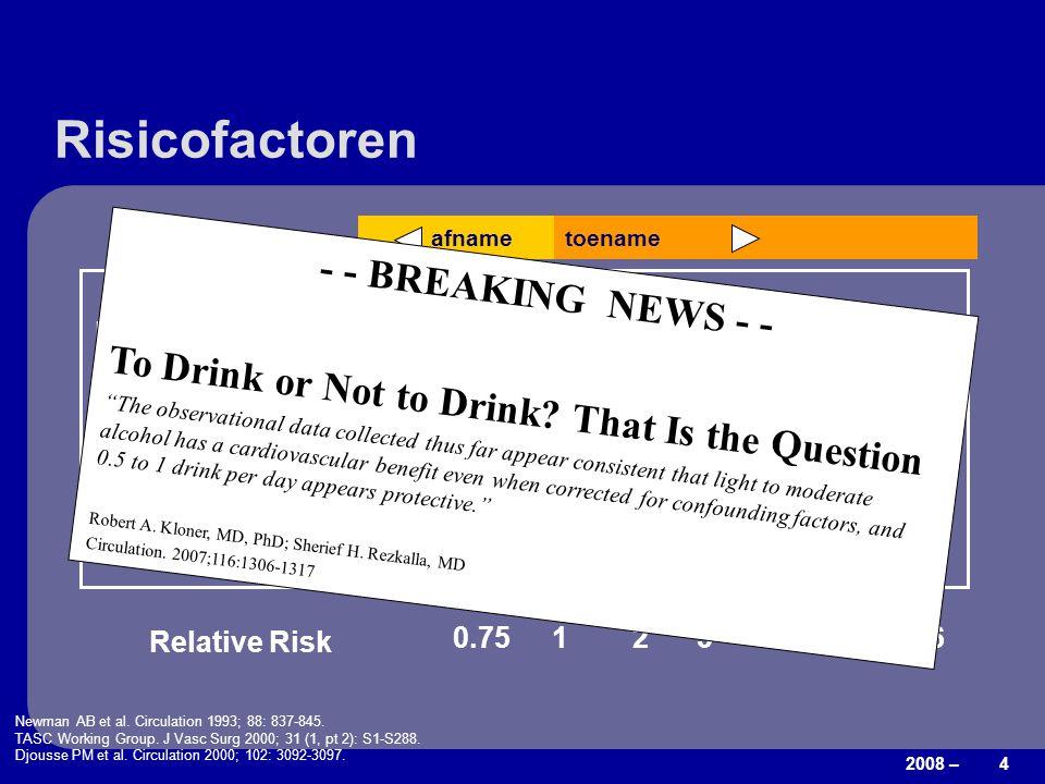 Risicofactoren - - BREAKING NEWS - -
