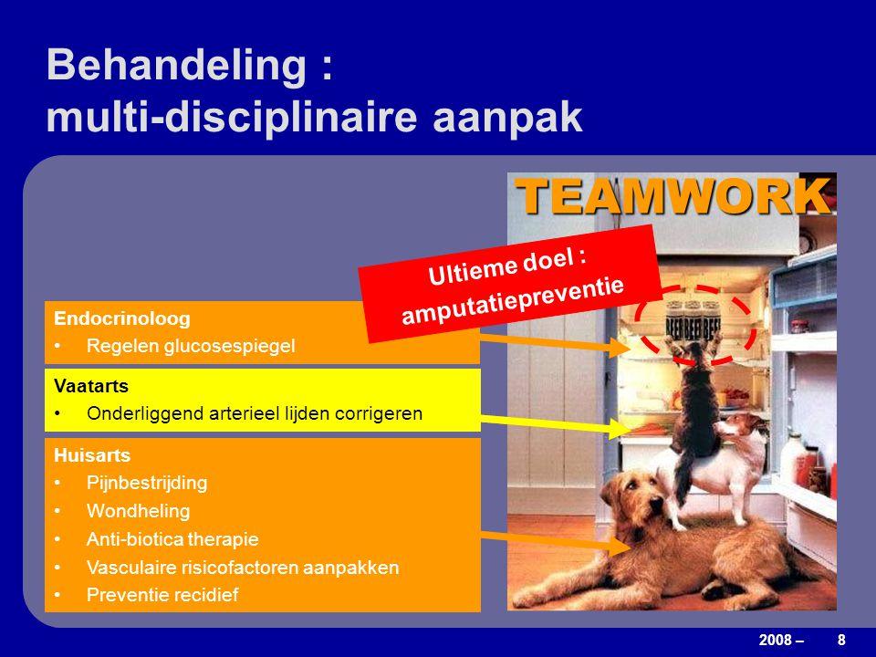 Behandeling : multi-disciplinaire aanpak