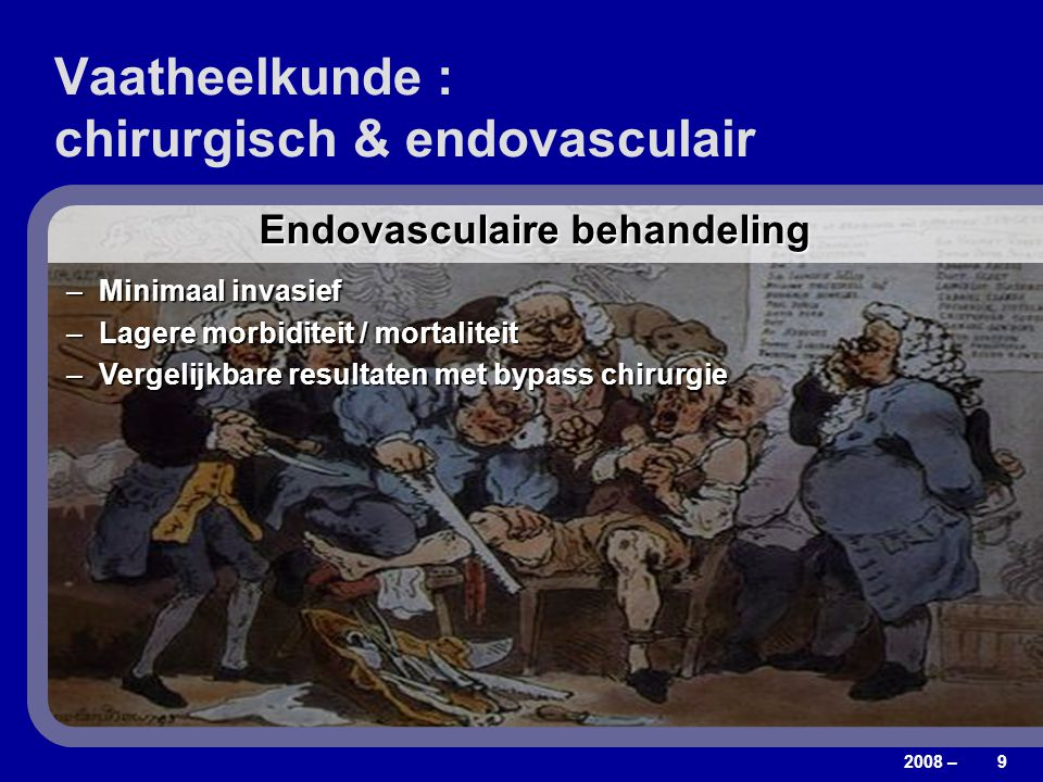 Vaatheelkunde : chirurgisch & endovasculair