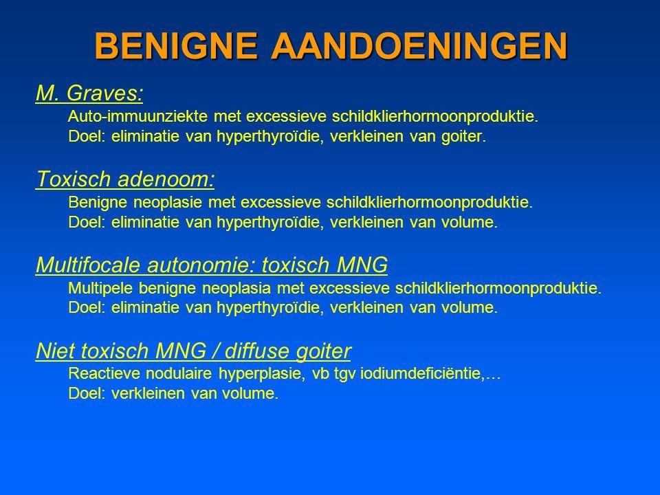 BENIGNE AANDOENINGEN M. Graves: Toxisch adenoom: