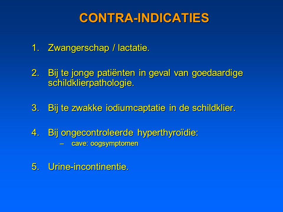 CONTRA-INDICATIES Zwangerschap / lactatie.