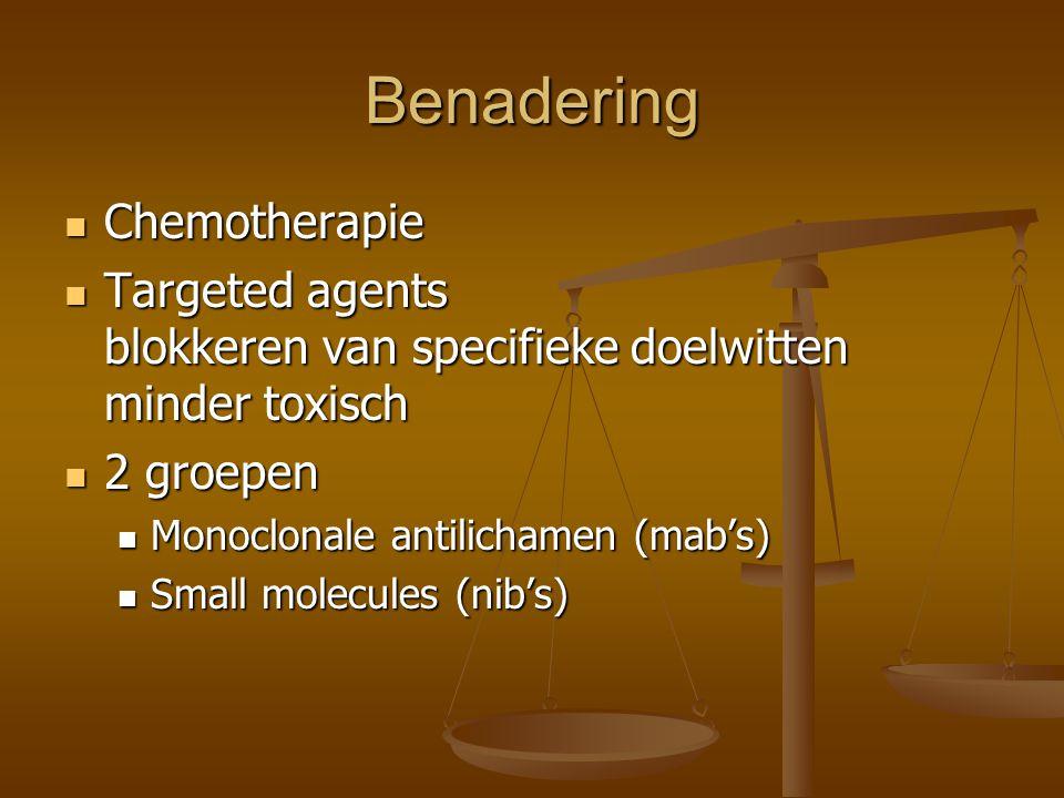Benadering Chemotherapie