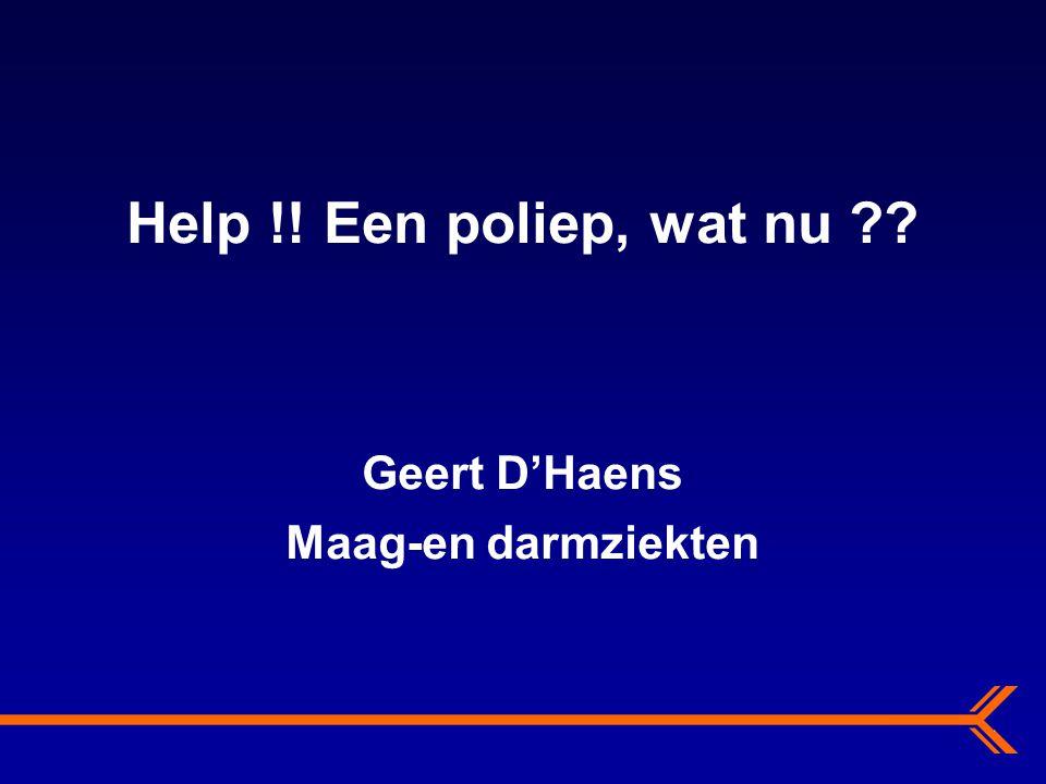 Geert D'Haens Maag-en darmziekten