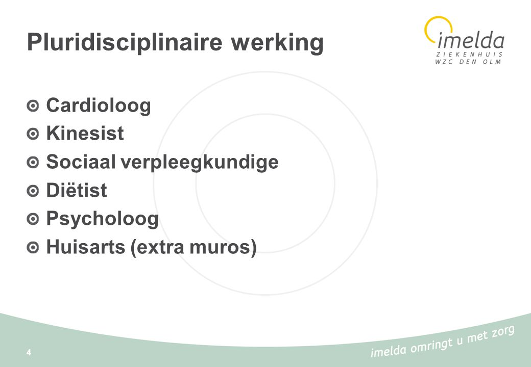 Pluridisciplinaire werking