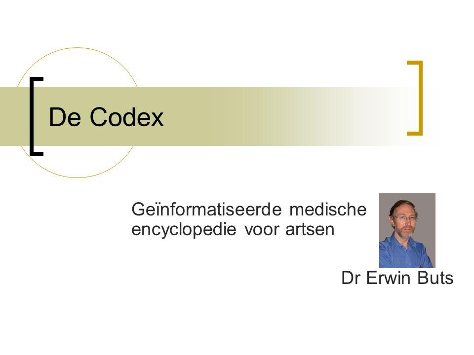Geïnformatiseerde medische encyclopedie voor artsen Dr Erwin Buts