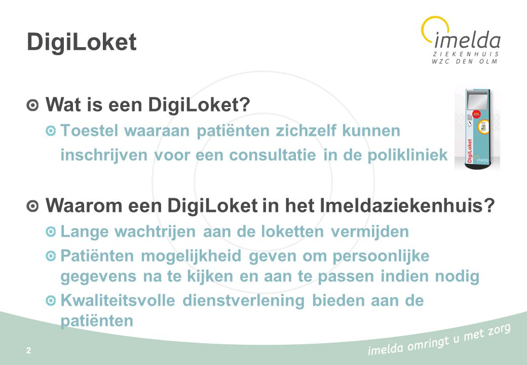 DigiLoket Wat is een DigiLoket