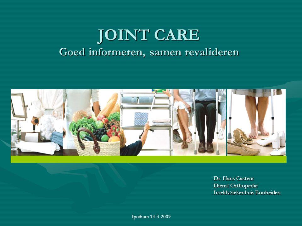 JOINT CARE Goed informeren, samen revalideren