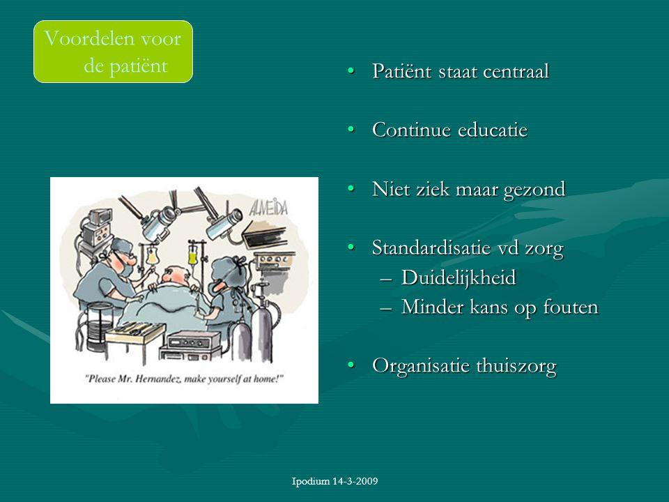 Voordelen voor de patiënt
