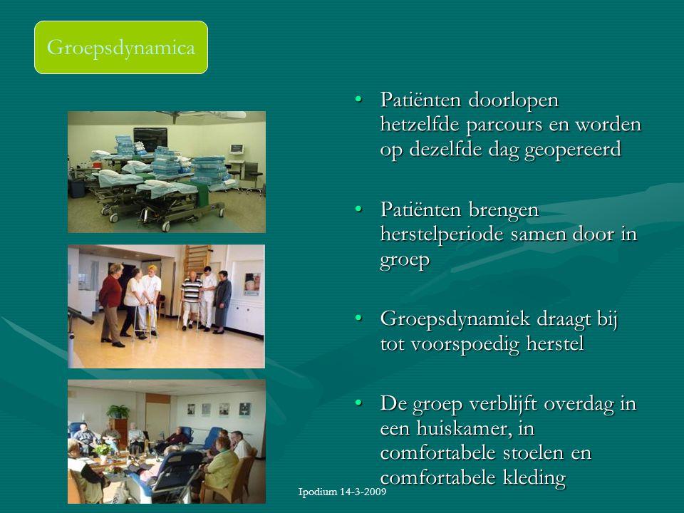 Patiënten brengen herstelperiode samen door in groep