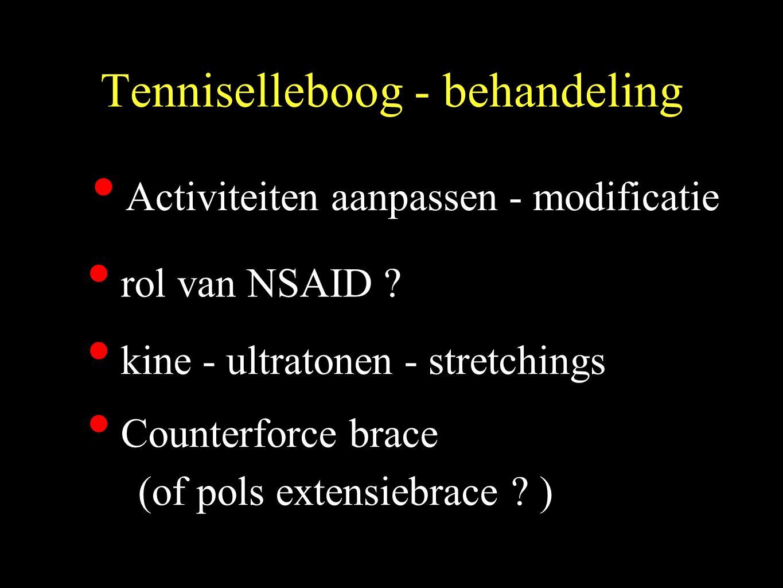Tenniselleboog - behandeling