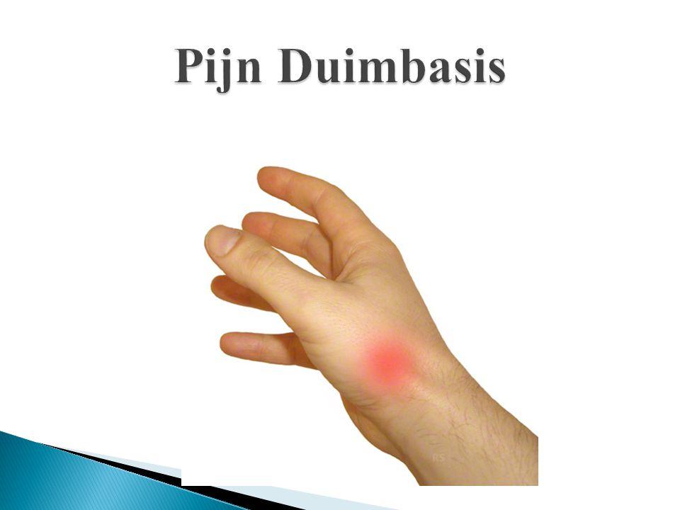 Pijn Duimbasis