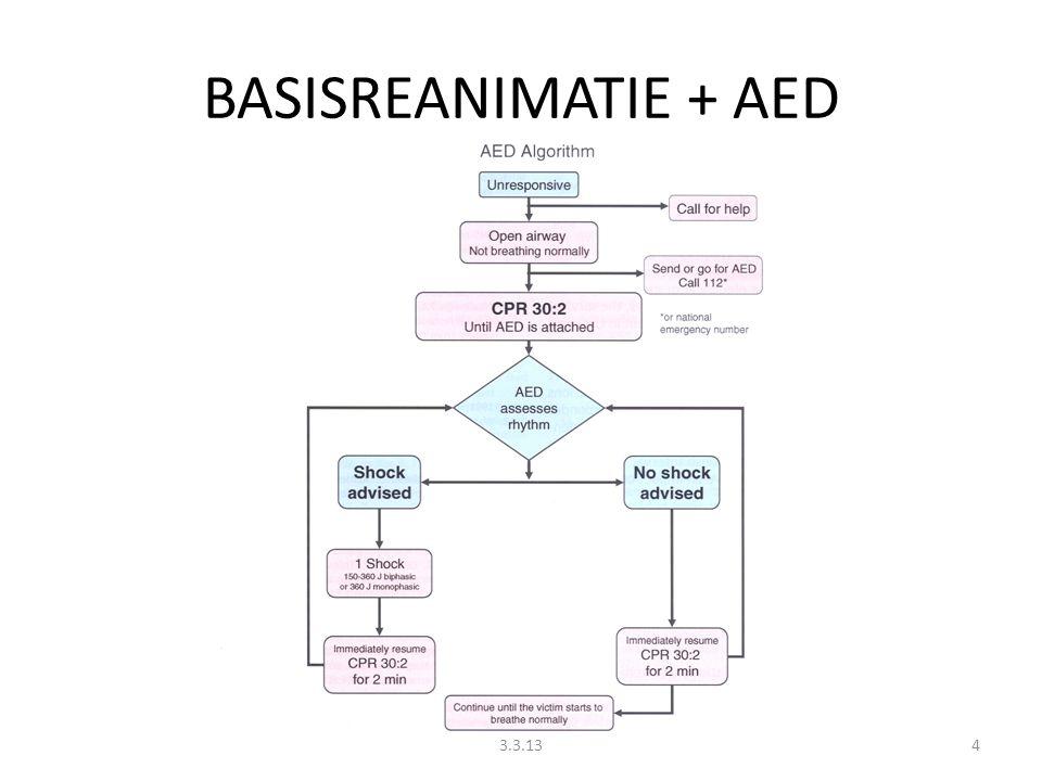 BASISREANIMATIE + AED 3.3.13