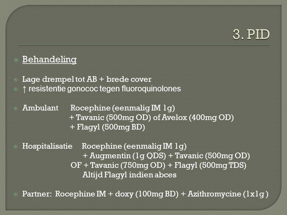 3. PID Behandeling Lage drempel tot AB + brede cover