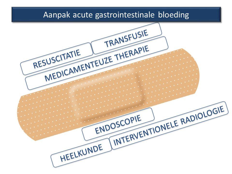 Aanpak acute gastrointestinale bloeding