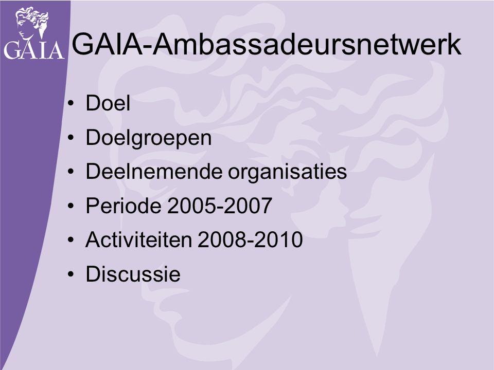 GAIA-Ambassadeursnetwerk