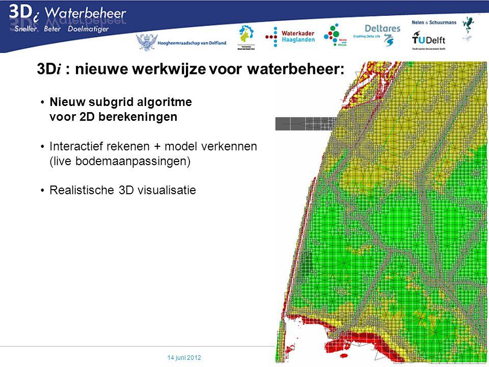 3Di : nieuwe werkwijze voor waterbeheer: