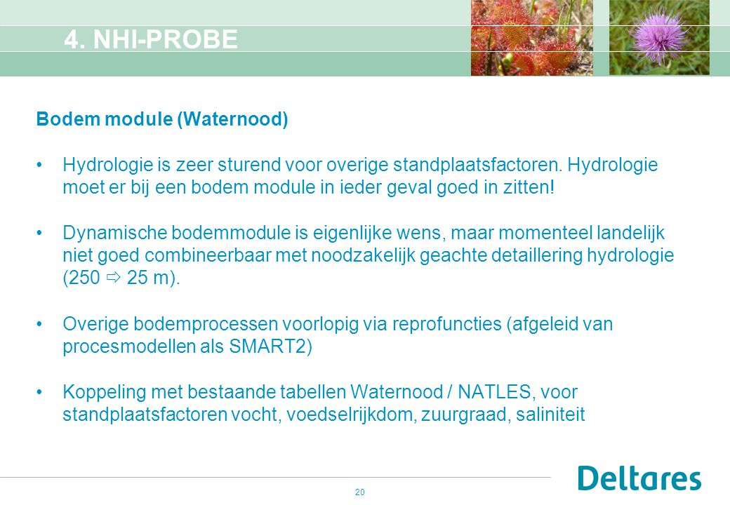 4. NHI-PROBE Bodem module (Waternood)