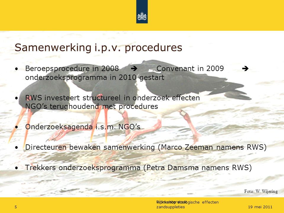 Samenwerking i.p.v. procedures