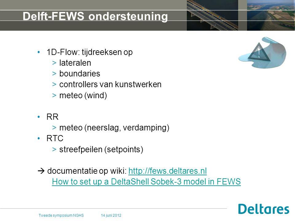 Delft-FEWS ondersteuning