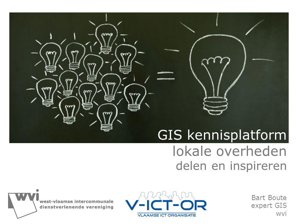 GIS kennisplatform lokale overheden
