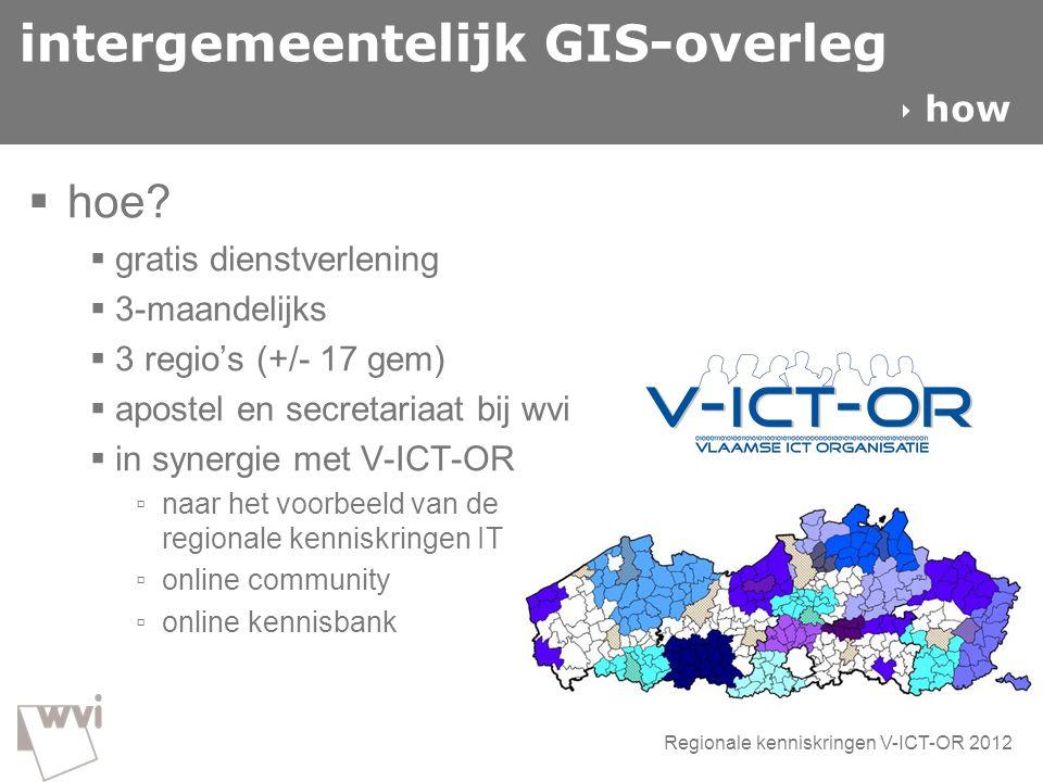 intergemeentelijk GIS-overleg