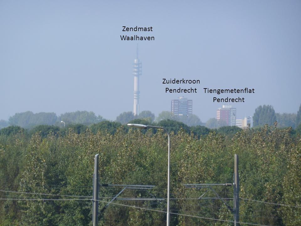 Zendmast Waalhaven Zuiderkroon Pendrecht Tiengemetenflat Pendrecht