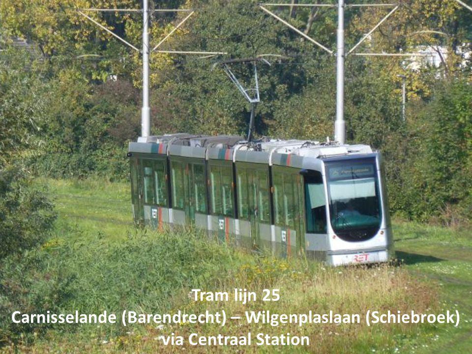 Carnisselande (Barendrecht) – Wilgenplaslaan (Schiebroek)