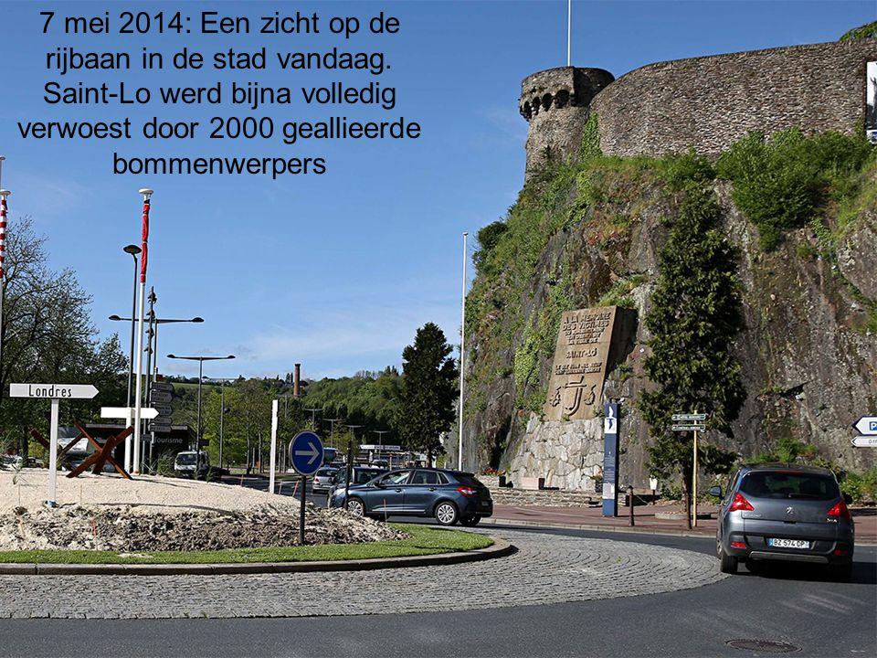 7 mei 2014: Een zicht op de rijbaan in de stad vandaag
