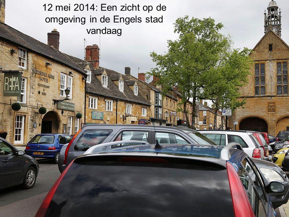 12 mei 2014: Een zicht op de omgeving in de Engels stad vandaag