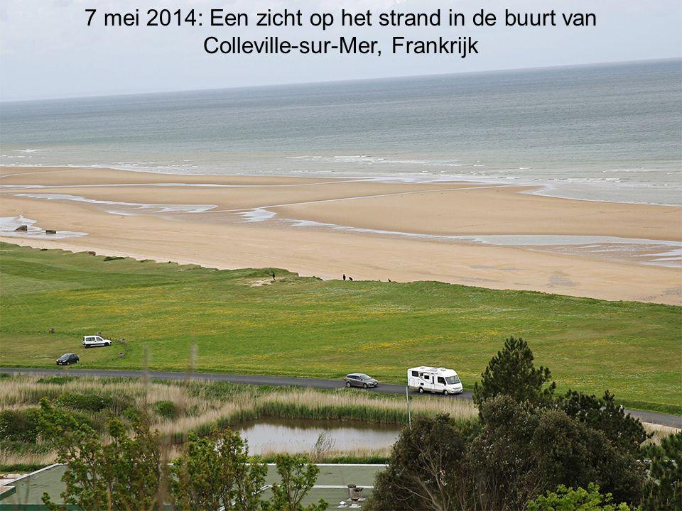 7 mei 2014: Een zicht op het strand in de buurt van