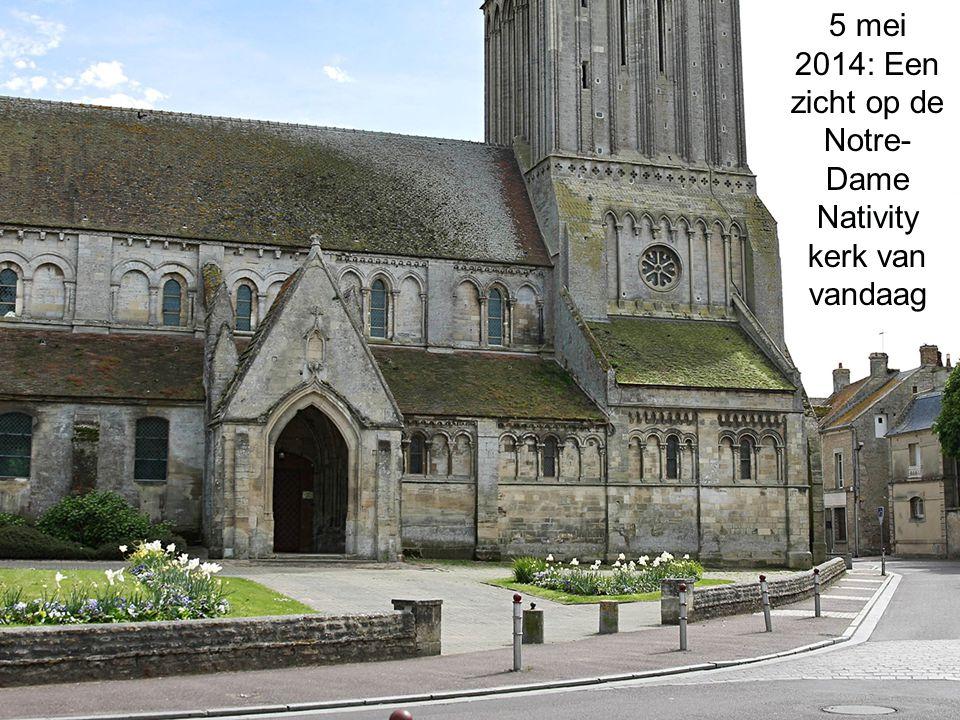 5 mei 2014: Een zicht op de Notre-Dame Nativity kerk van vandaag