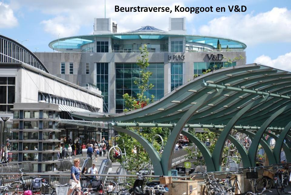 Beurstraverse, Koopgoot en V&D