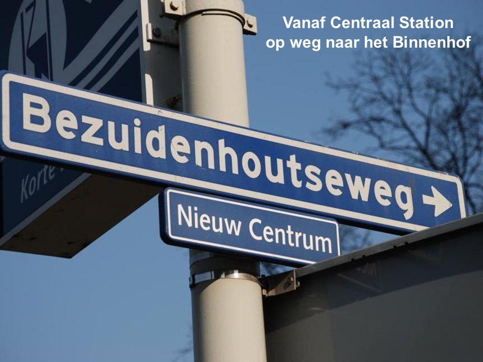 Vanaf Centraal Station op weg naar het Binnenhof