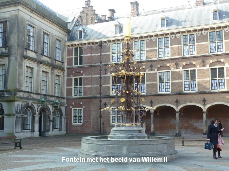 Fontein met het beeld van Willem II