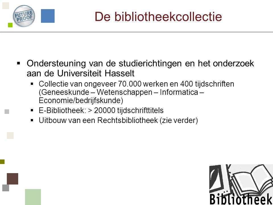 De bibliotheekcollectie