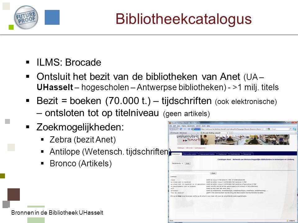Bibliotheekcatalogus
