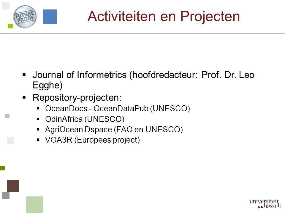 Activiteiten en Projecten