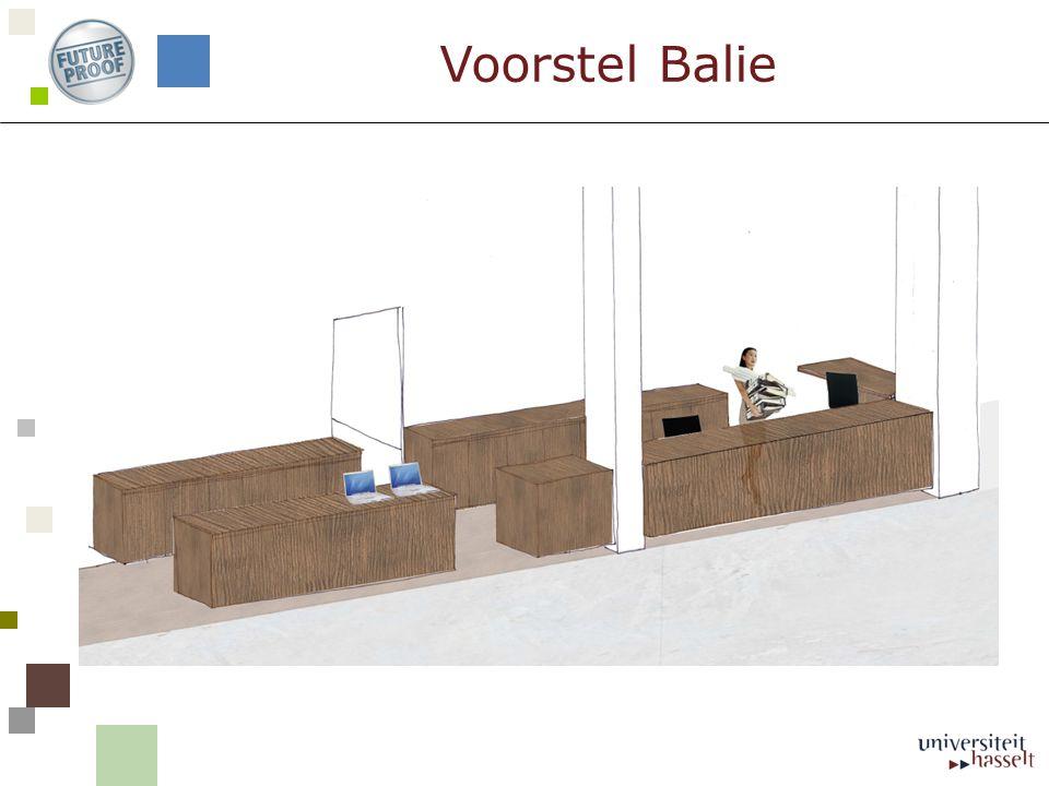 Voorstel Balie