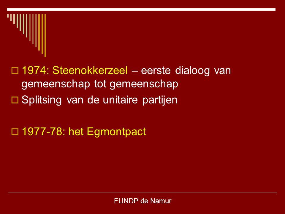 1974: Steenokkerzeel – eerste dialoog van gemeenschap tot gemeenschap