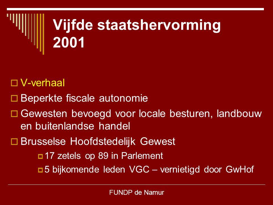 Vijfde staatshervorming 2001