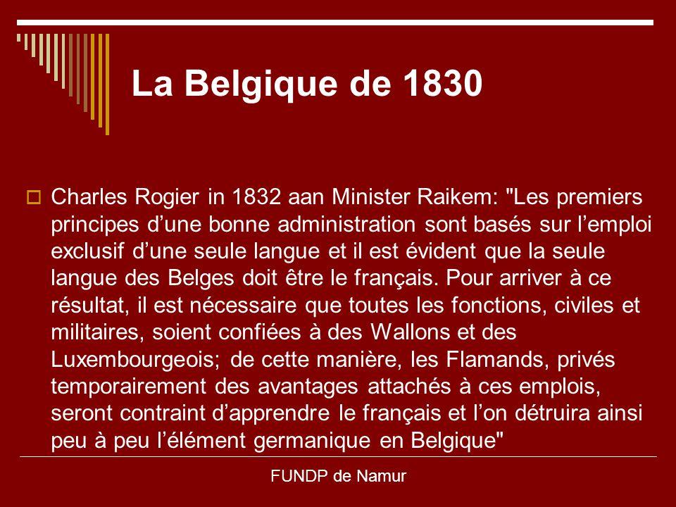 La Belgique de 1830
