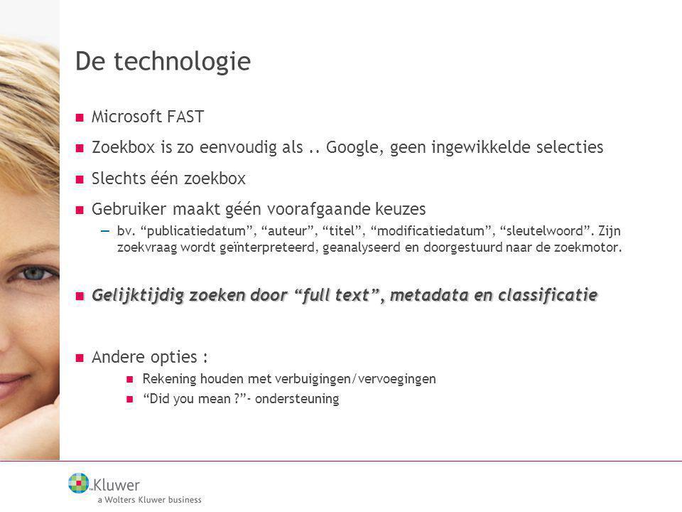 De technologie Microsoft FAST