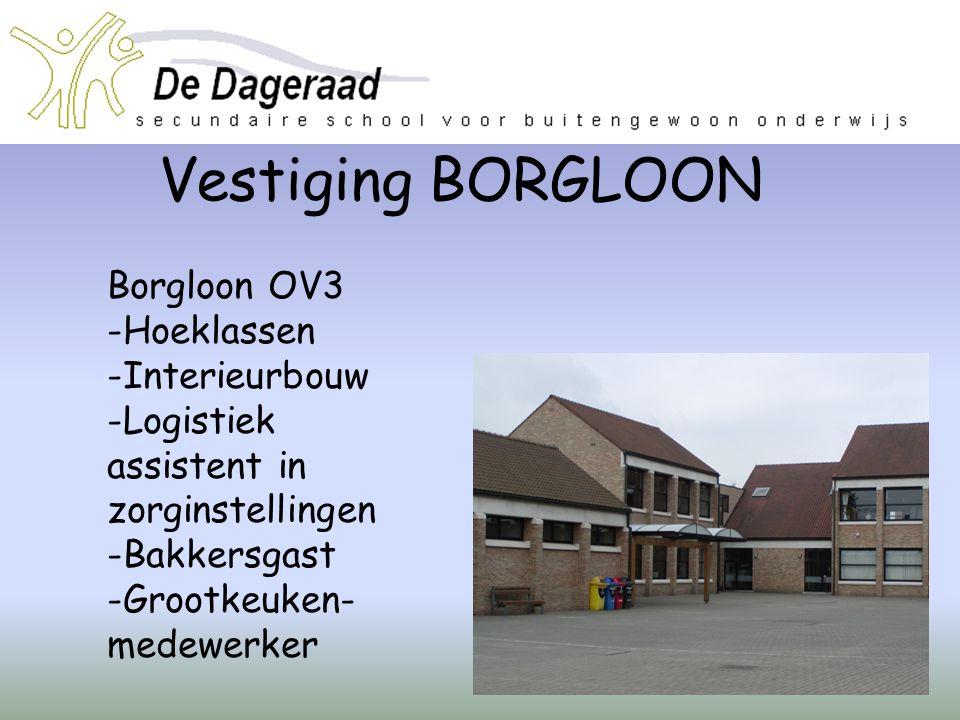 Vestiging BORGLOON Borgloon OV3 Hoeklassen Interieurbouw