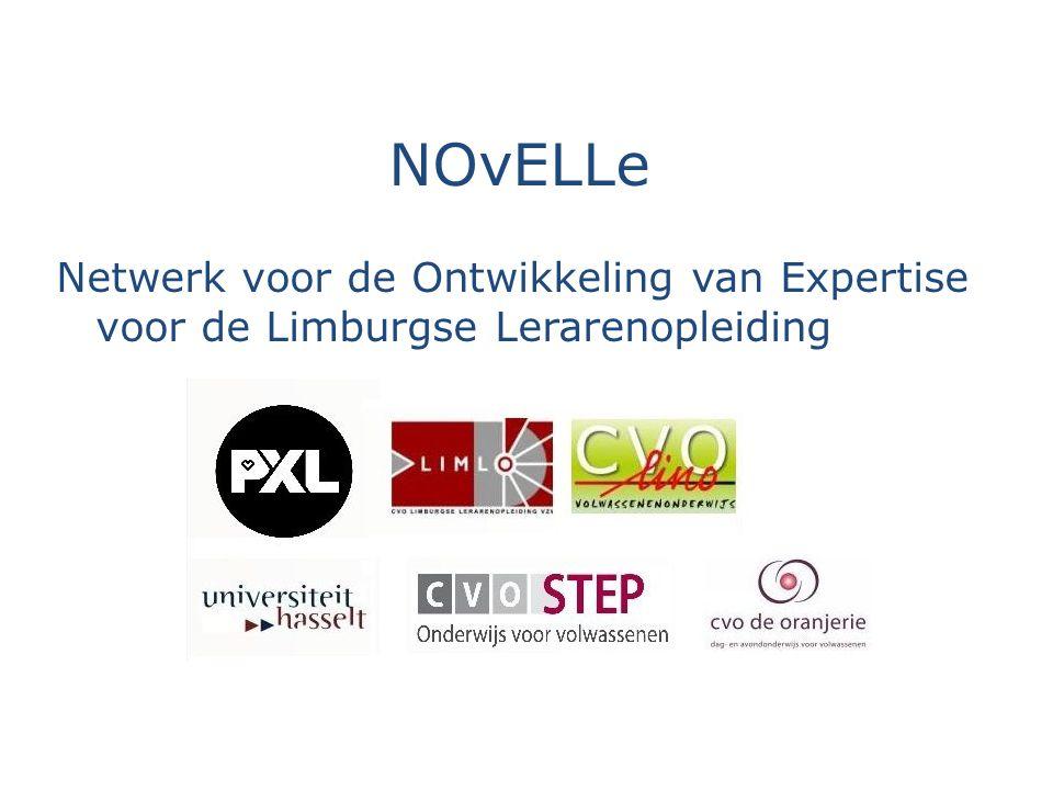 NOvELLe Netwerk voor de Ontwikkeling van Expertise voor de Limburgse Lerarenopleiding