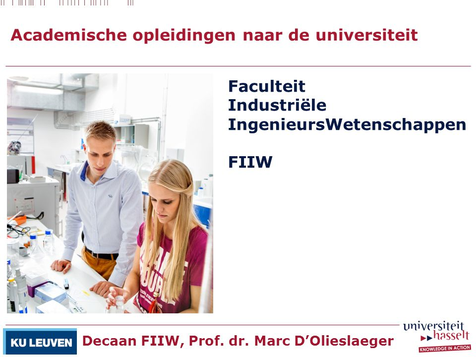 Academische opleidingen naar de universiteit