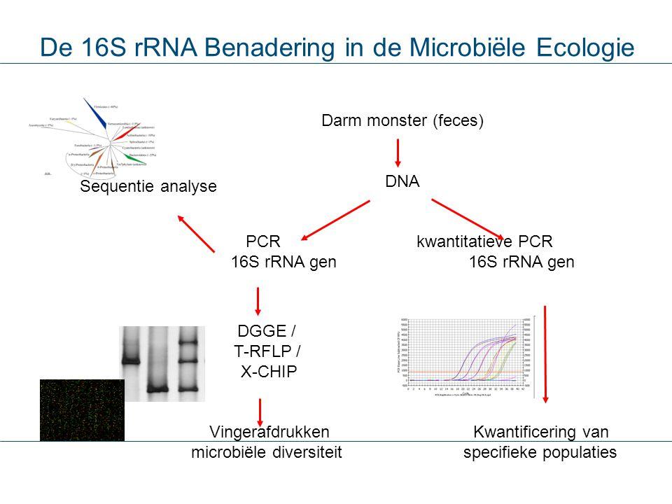 De 16S rRNA Benadering in de Microbiële Ecologie