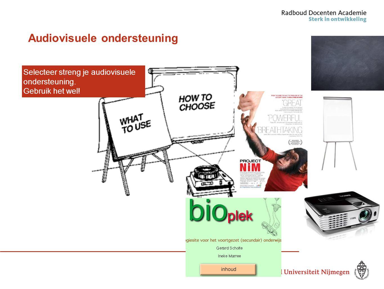 Audiovisuele ondersteuning