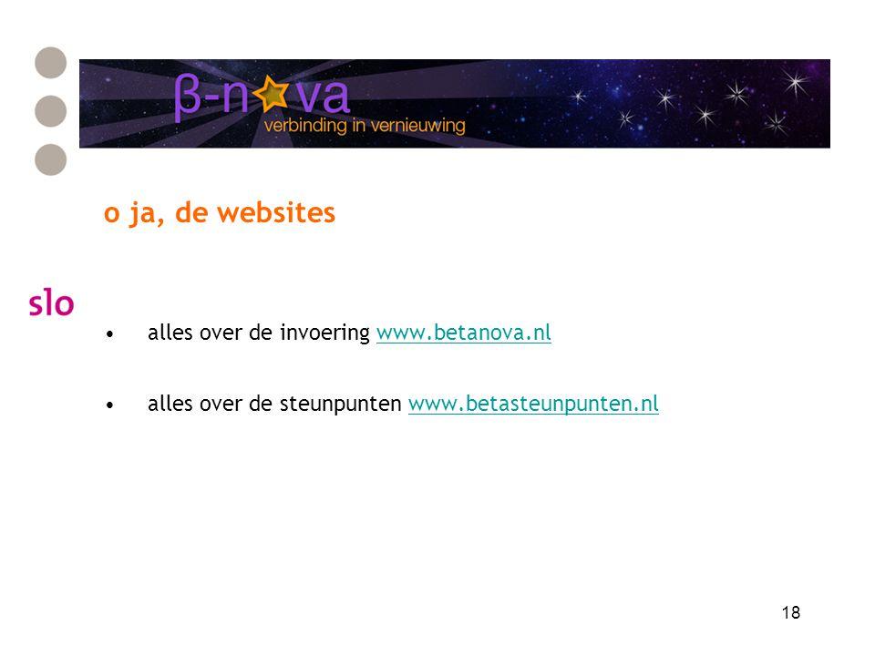 o ja, de websites alles over de invoering www.betanova.nl